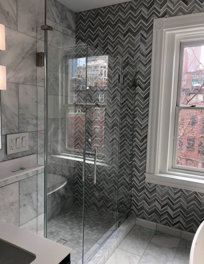 R&M Glass Boston Shower Glass Image 16